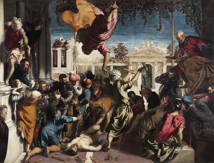Jacopo Robusti, aka Tintoretto, The Miracle of the Slave, 1548