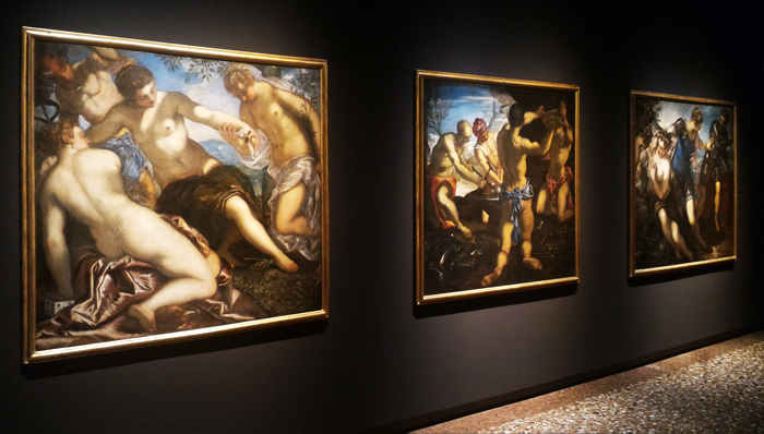 TINTORETTO 1519-1594 - Exhibition view at Palazzo Ducale