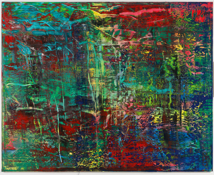 Gerhard Richter, Abstraktes Bild, 2016 Oil on canvas, 200 x 250 cm | Inv. 946-2 | Private collection | © Gerhard Richter Archive