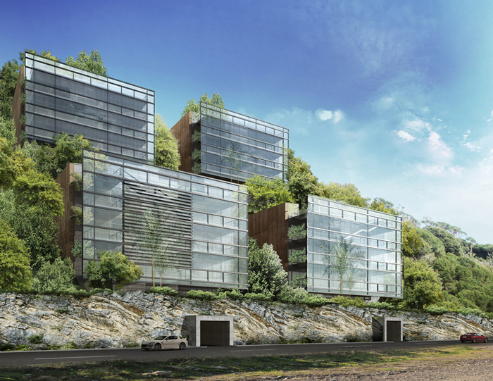 Hashim Sarkis, Yarze Housing Project - Image courtesy of Hashim Sarkis Studios (HSS)