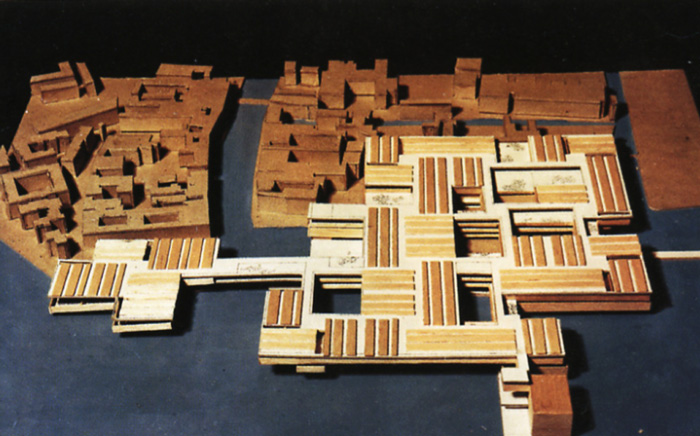 Le Corbusier, Project for the Venice Hospital, 1965
