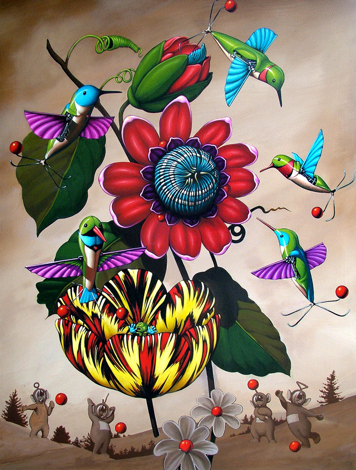 Philip Slagter, DARPA Hummingbirds. Courtesy of the Artist