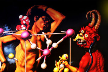 Philip Slagter, Molecular Martyrdom, [detail]. Courtesy of the Artist