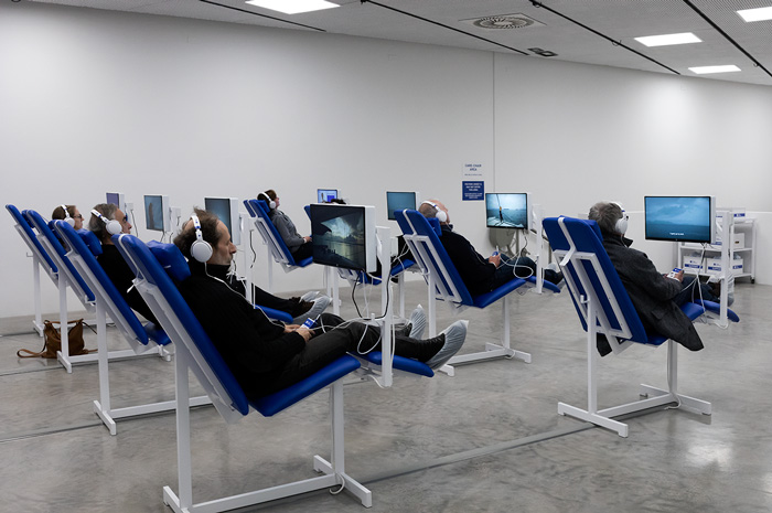 Israeli Pavilion, Venice Art Biennale 2019, Care Chair. Photo by Elad Sarig. Courtesy of Elad Sarig and Field Hospital X