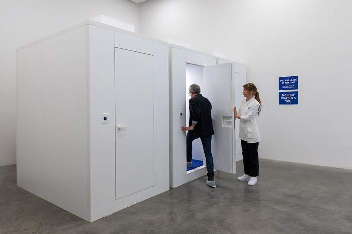 Israeli Pavilion, Venice Art Biennale 2019, Safe Unit. Photo by Elad Sarig. Courtesy of Elad Sarig and Field Hospital X