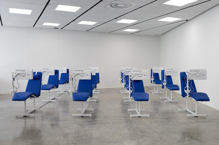 Israeli Pavilion, Venice Art Biennale 2019, Care Chair. Photo by Elad Sarig. Courtesy of Elad Sarig and Field Hospital X