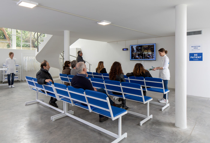Israeli Pavilion, Venice Art Biennale 2019, Reception. Photo by Elad Sarig. Courtesy of Elad Sarig and Field Hospital X