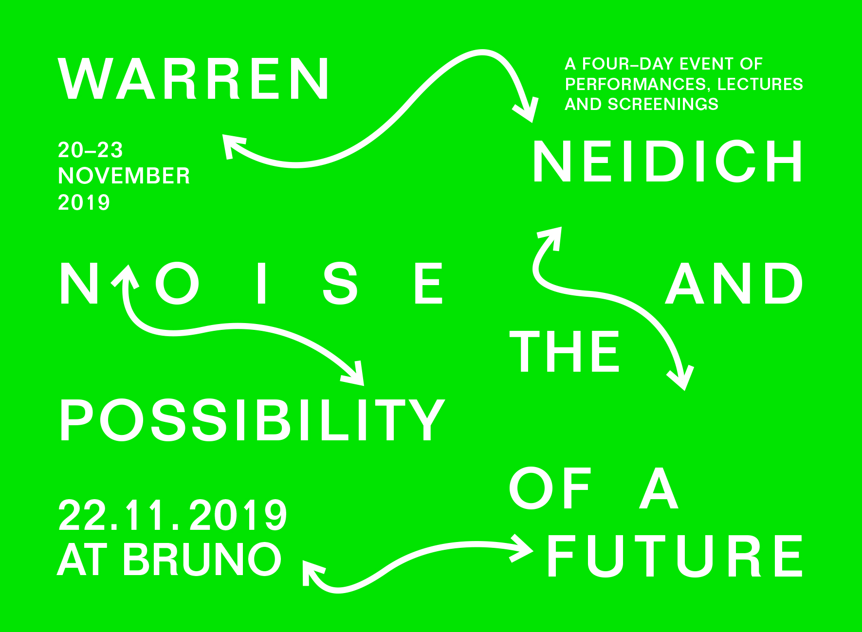 Noise and the Possibility of a Future - by Warren Neidich - Venice, 20-23/11/2019