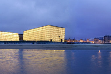 Rafael Moneo, Kursaal Convention Center, San Sebastian, Spain, 1990-1999 | Detail | Image courtesy of Michael Moran