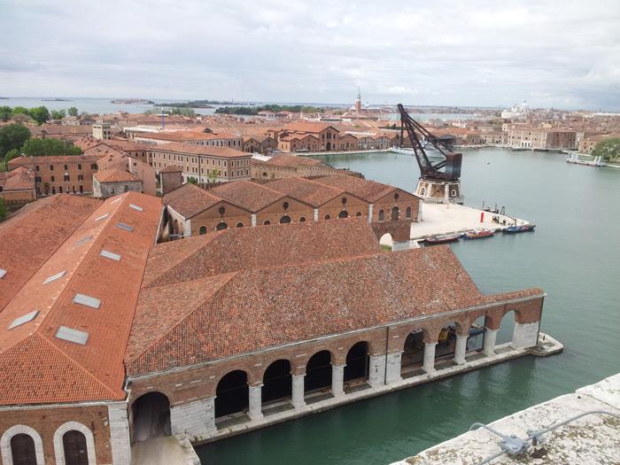 Overview Arsenale, Venice, Italy | Photo by Andrea Avezzù, Courtesy La Biennale di Venezia