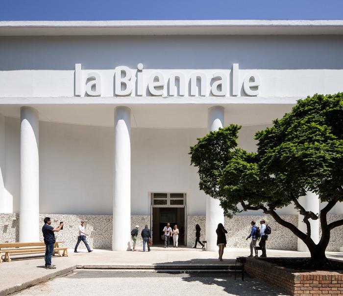 Central Pavillon at Giardini, Venice, Italy | Photo by Francesco Galli, Courtesy of La Biennale di Venezia