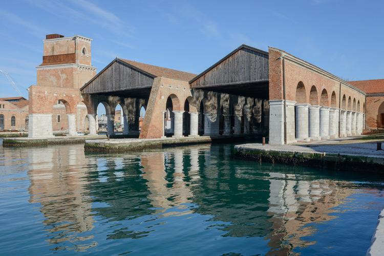 Arsenale, Gaggiandre | Photo by Andrea Avezzù | Courtesy of La Biennale di Venezia